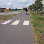 Dla kogo to przejście przez drogę rowerową?