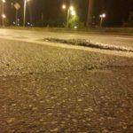 Nierówny asfalt mógł się przyczynić do wypadku na ul. Wschodniej?