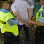 Strażnicy miejscy złapali nocnego podpalacza śmietników
