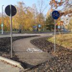 Nowa ścieżka rowerowa prowadzi do lasu [FOTO]
